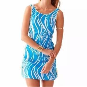 Lilly Pulitzer Delia Resort Joe Fish Shift Dress